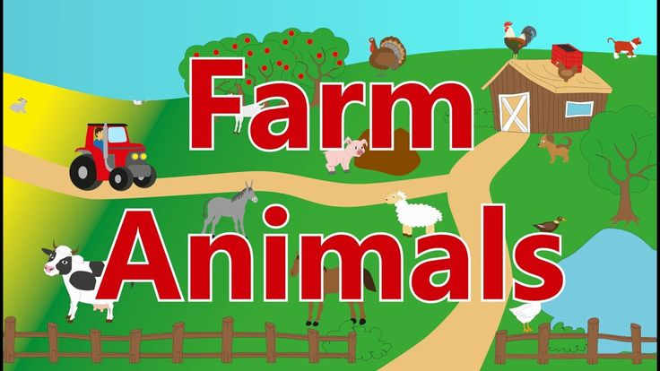 🐄 Farm Animals - Sounds for kids, children, babies and toddlers - Best Learn For Kids
