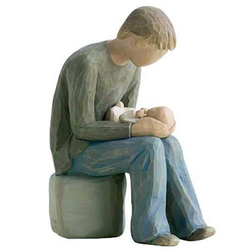 Bundles of Love - Willow Tree - New Dad Figurine.  Perfect gift!, $34.95 (http://www.bundlesoflove.com.au/willow-tree-new-dad-figurine-perfect-gift/)