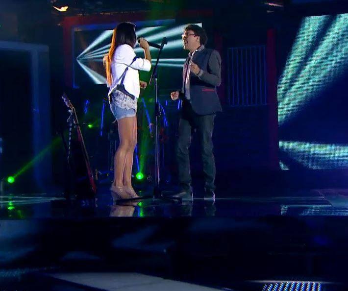 ¿Qué tal el dúo que hizo #AndrésCepeda con esta participante en #LaVozColombia?