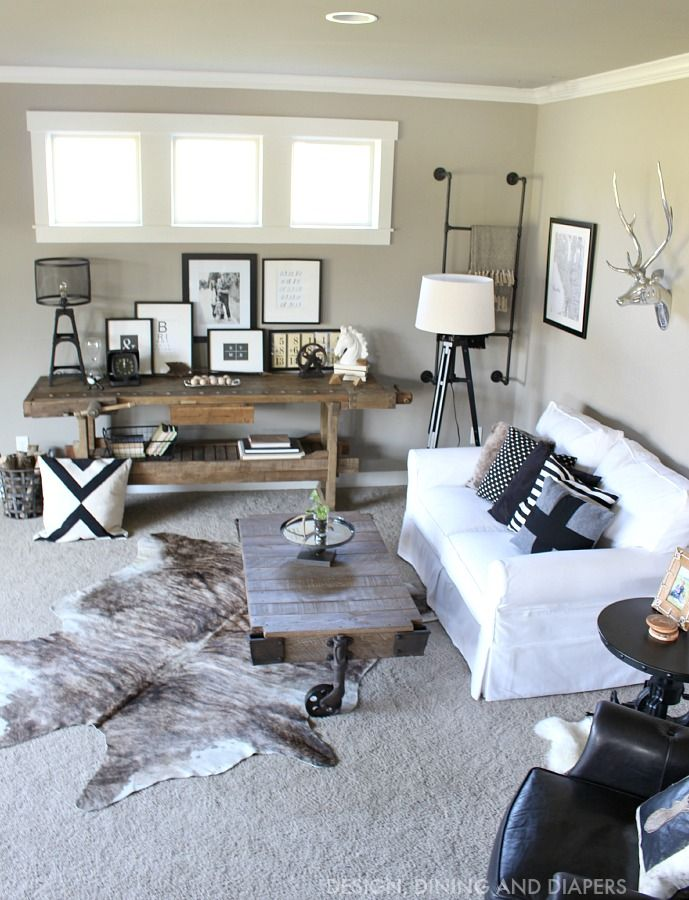 25 Best Ideas About Rustic Family Rooms On Pinterest Rustic Modern Decor Diy Living Room