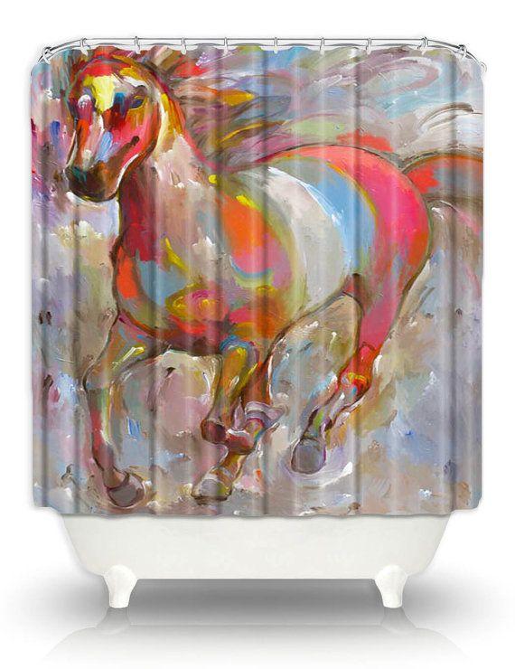 30 best Artistic shower curtain images on Pinterest | Shower ...