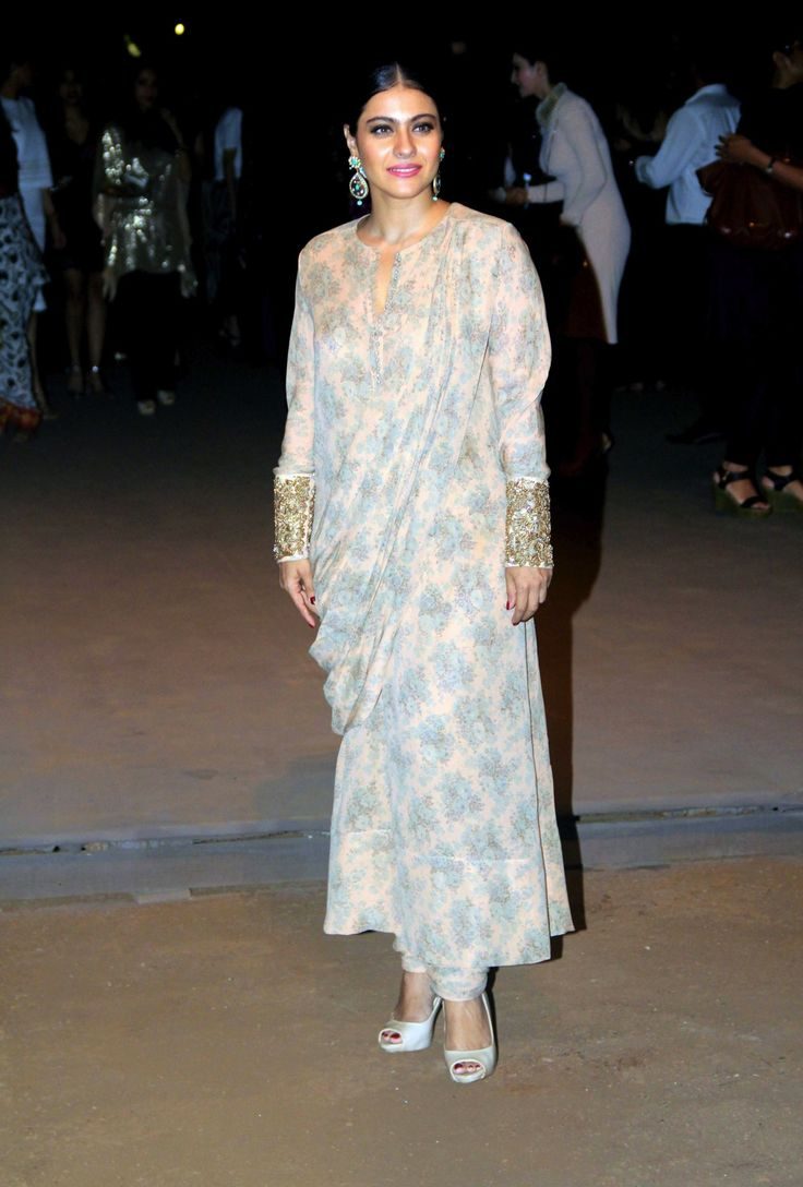 Kajol at Lakme fashion week