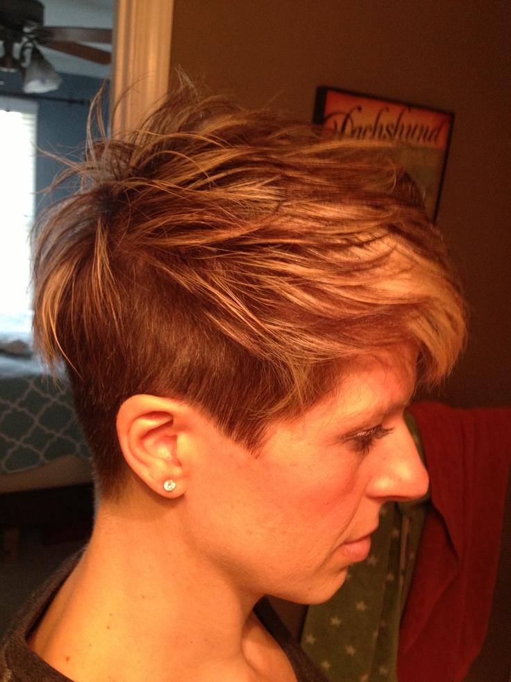 Short hair undercut, Hair undercut and Undercut hairstyles on Pinterest