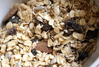 Homemade Muesli. This is a healthy cereal which is similar to granola.