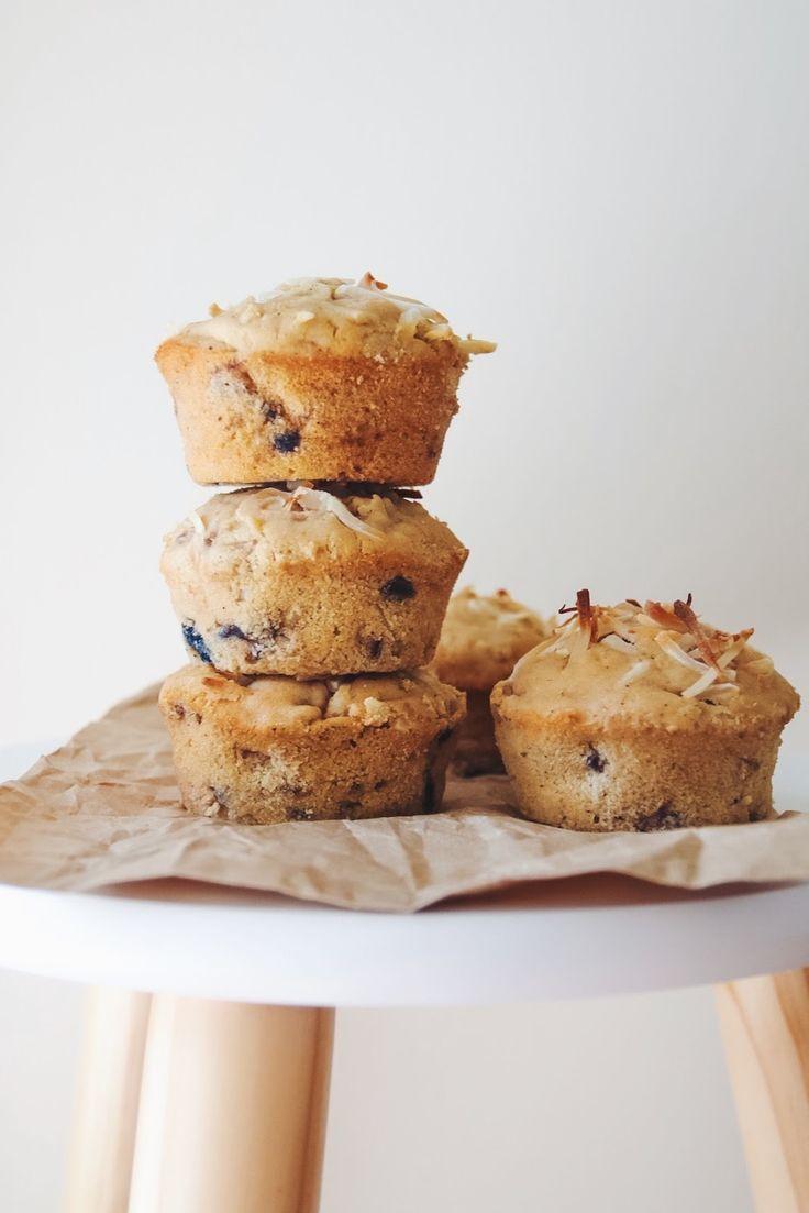 Vegan Feijoa Muffins, Gluten Free and Refined Sugar Free