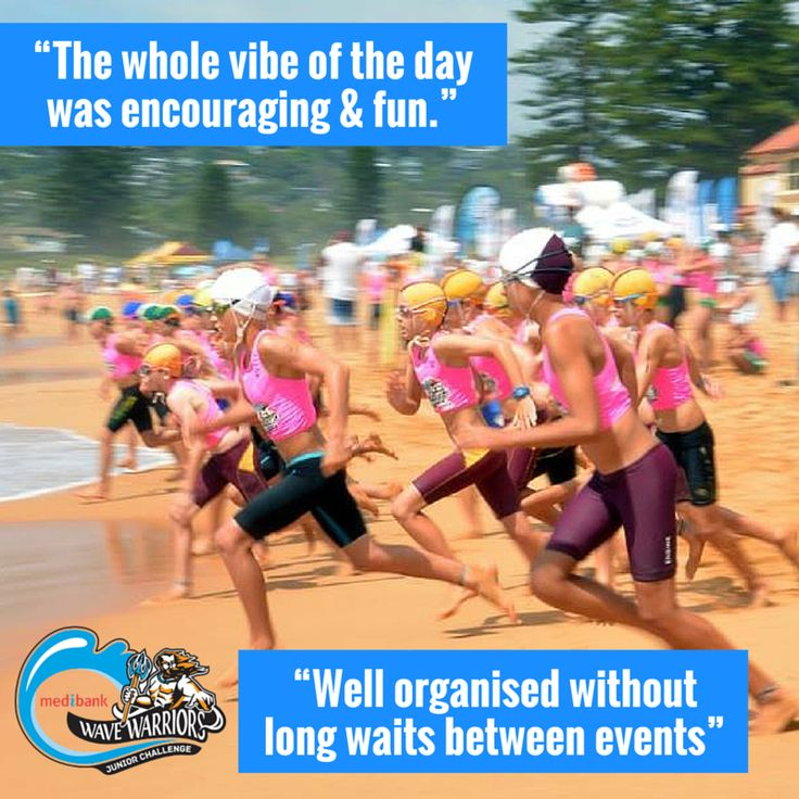"""People are saying some great things about Medibank Wave Warriors! """"Well organised without long waits between events"""" """"Highly organised event - great beach set-up and easy to hear events being called. Younger non-competing sibling loved the active zone"""" """"The whole vibe of the day was encouraging and fun."""" See more testimonials here: http://www.wavewarriors.com.au/about-wave-warriors/ #medibankwavewarriors #wavewarriorsaus #wavewarriors #GenBetter #surflifesaving #testimonials"""