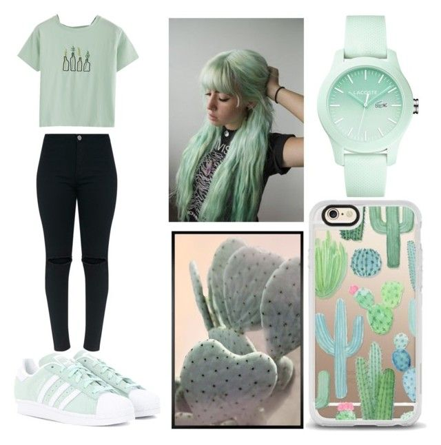 """Serene at Sea #3"" by raineingboties on Polyvore featuring adidas Originals, Casetify, Pottery Barn and Lacoste"