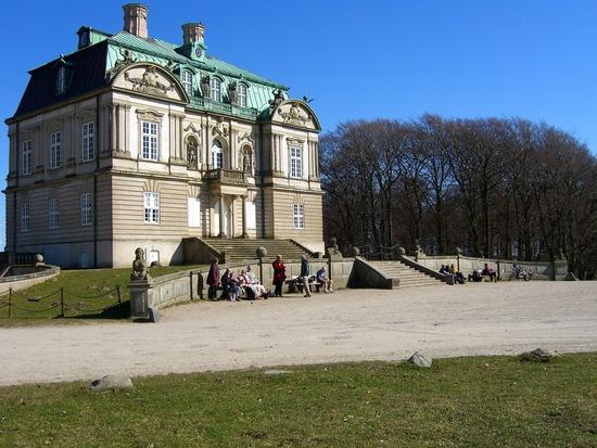 Eremitage Palace or Eremitage Hunting Lodge