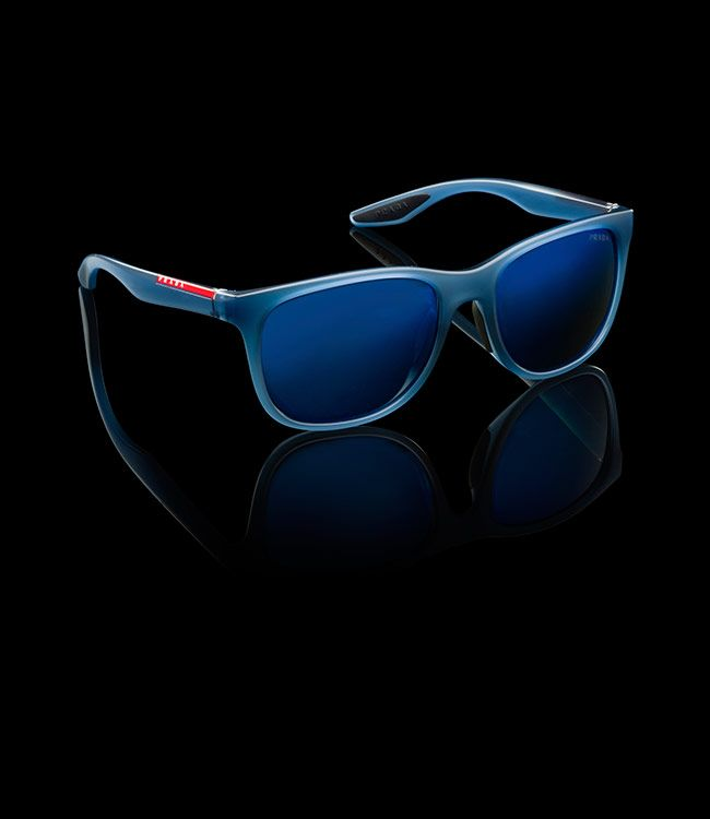 185522cee6a2 ... good prada gray lenses with blue mirror finish occular shaders  sunglasses ray ban sunglasses und mens ...