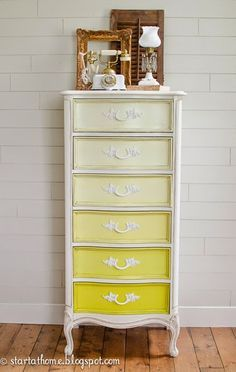 Start at Home: Ombre French Lingerie Chest