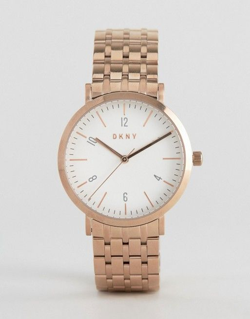 DKNY Minetta Rose Gold Bracelet Watch