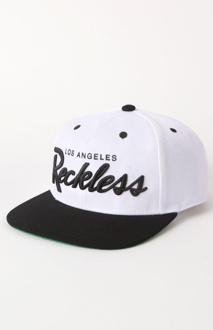 #YoungandReckless OG Script Snapback Hat