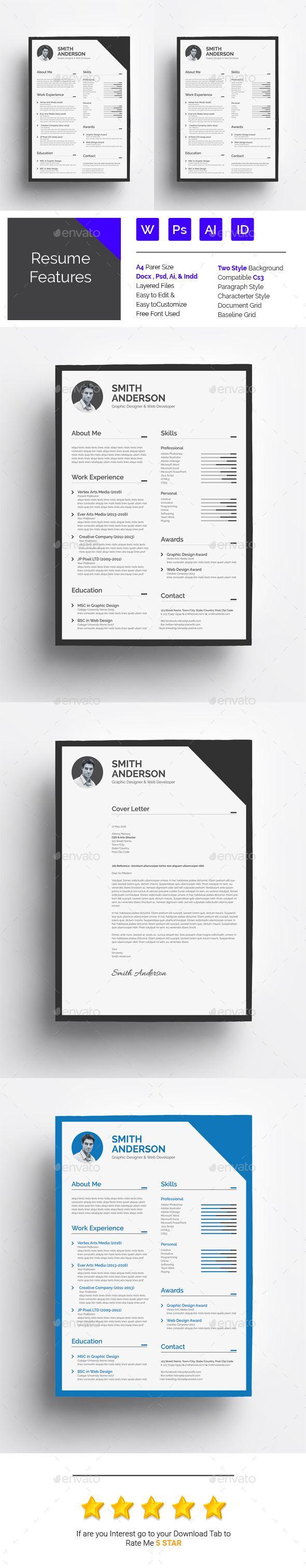 42 best UX Design Resume images on Pinterest | Resume design, Cv ...