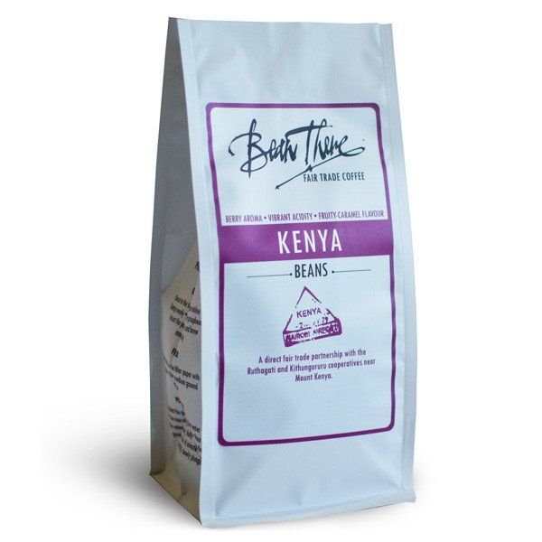 Bean There's Kenya Nyeri has strong fruity aromas and flavours. It is a product of their direct trade partnership with the Ruthagati Wet Mill