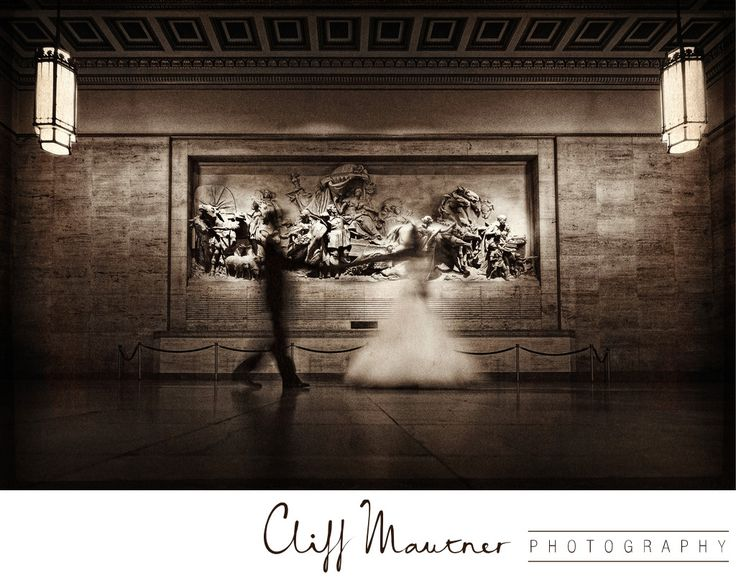 Cliff Mautner Photography - wedding photos at 30th street station
