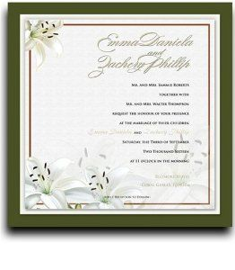 270 Square Wedding Invitations - Flower Affair by WeddingPaperMasters.com. $675.00. Now you can have it all! We have created, at incredible prices & outstanding quality, more than 300 gorgeous collections consisting of over 6000 beautiful pieces that are perfectly coordinated together to capture your vision without compromise. No more mixing and matching or having to compromise your look. We can provide you with one piece or an entire collection in a one stop shopp...