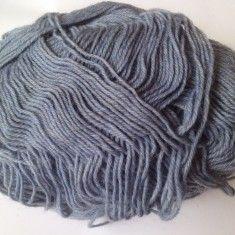 Ata - Fir de tricotat sau crosetat, lana 75% cu poliamida, moale, bleu petrol