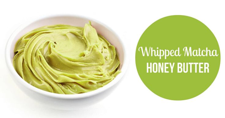 This whipped matcha honey butter makes the perfect addition to snacks. Smooth and deliciously spreadable, it's also packed with antioxidants.