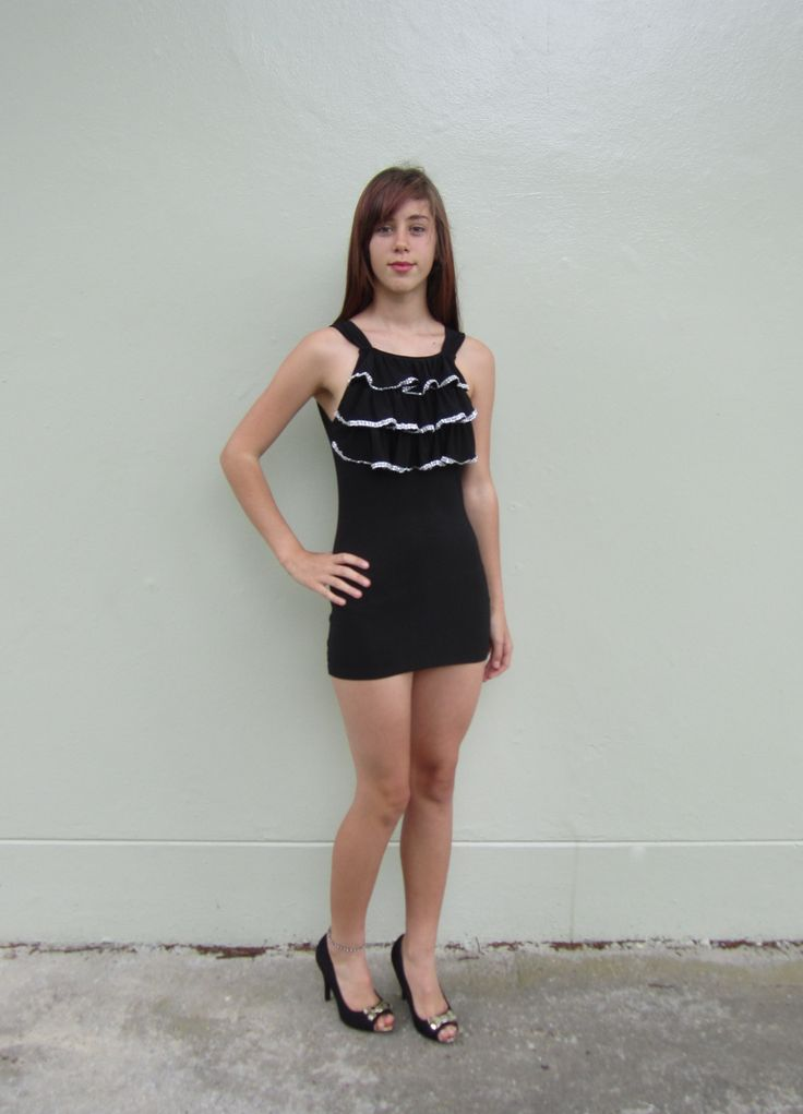 Black Evening Dress Size 06 $19.99