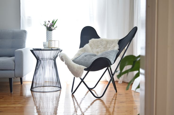 Butterfly chair styling hooked on interiors