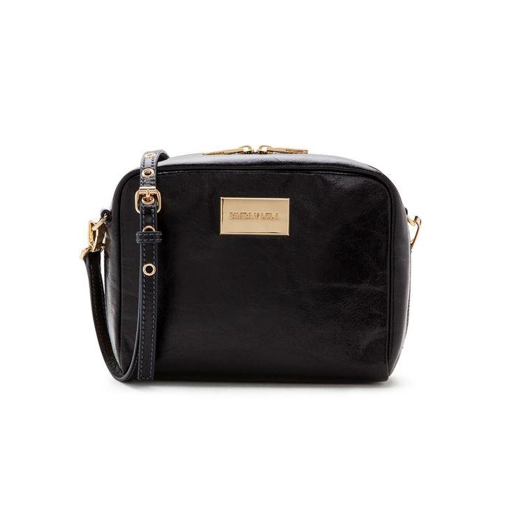 BAGS Square cross-body bag BLACK