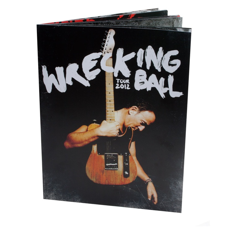 Bruce Wrecking Ball #BruceSpringsteen #RogersArena (formerly General Motors Place) #Vancouver #AskaTicket