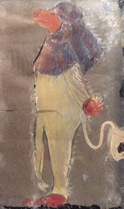 Н.К.Рерих. Тролль. 1912