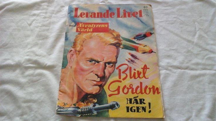 Levande Livet nr. 24 1954 Blixt Gordon här igen!