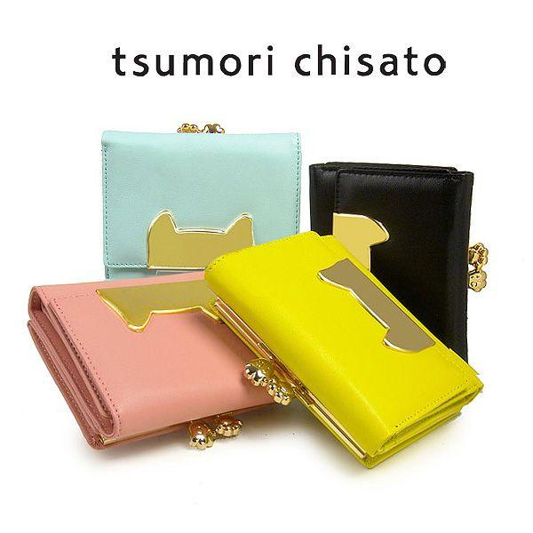tsumori chisato/ツモリチサト ネコフェース 財布