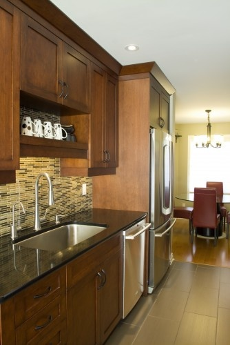 Warm and earthy copperstone kitchens kitchen for Warm kitchen ideas