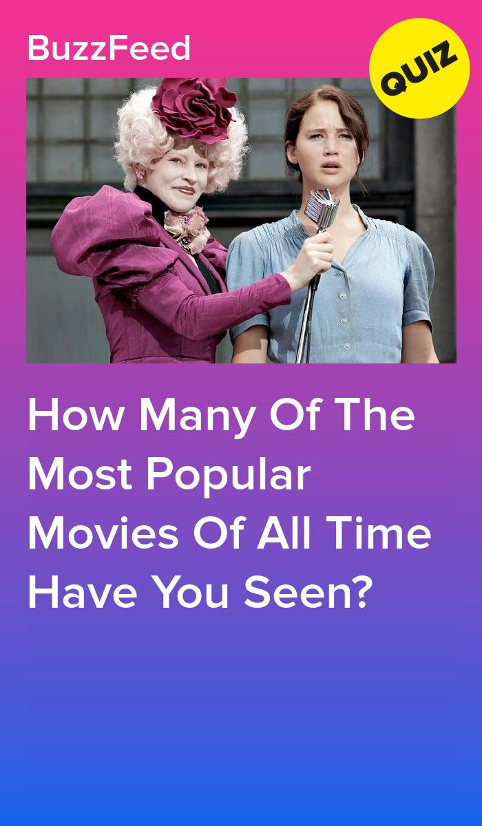 How Many Of The Most Popular Movies Of All Time Have You Seen Quizzes Funny Most Popular Movies Movie Quiz