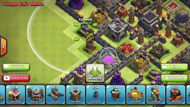 Clash of Clans Town Hall 9 TH9   Hybrid   Trophy Base   2 Air Sweeper 2015