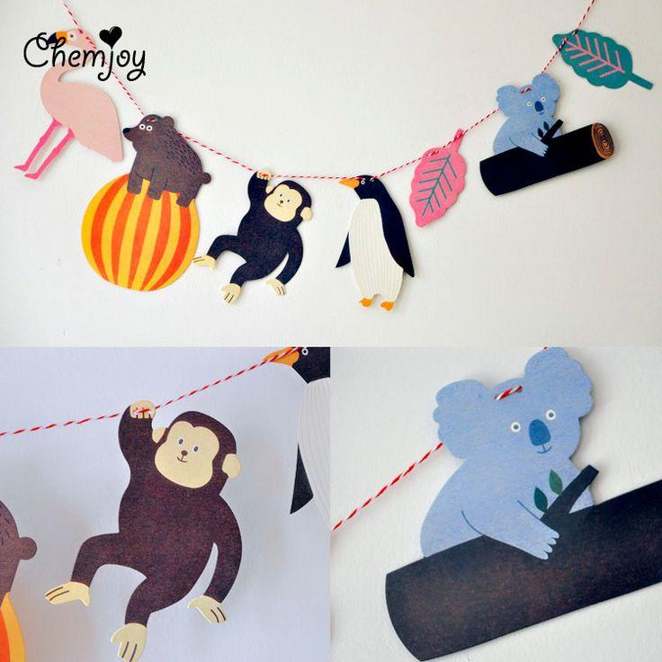 Купить товарДуша ребенка висит животных гирлянда обезьяна медведь пингвин душа ребенка украшения рождения детей ну вечеринку декор ну вечеринку поставки в категории События и праздничные атрибутына AliExpress.    Пингвин: 7.1*11.9 см       Медведь: 9.8*15.4 см       Обезьяна: 9.5*12 см       Фламинго: 11.2*13.2 см       Koala: 1