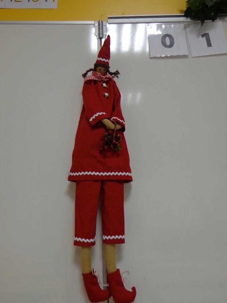 Grand lutin de Noël Tilda