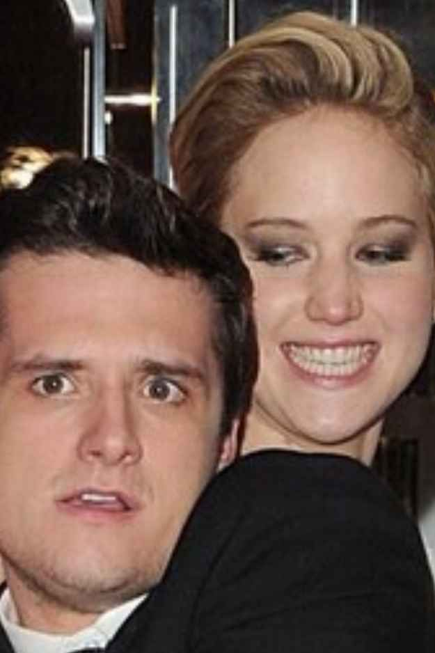 And whenever this happened. Because this photo says it all. | 27 Times Jennifer Lawrence & Josh Hutcherson Proved They Have The Best Offscreen Relationship Ever