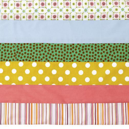 Crib Skirts: Pink Stripe Crib Skirt in Crib Skirts   The Land of Nod