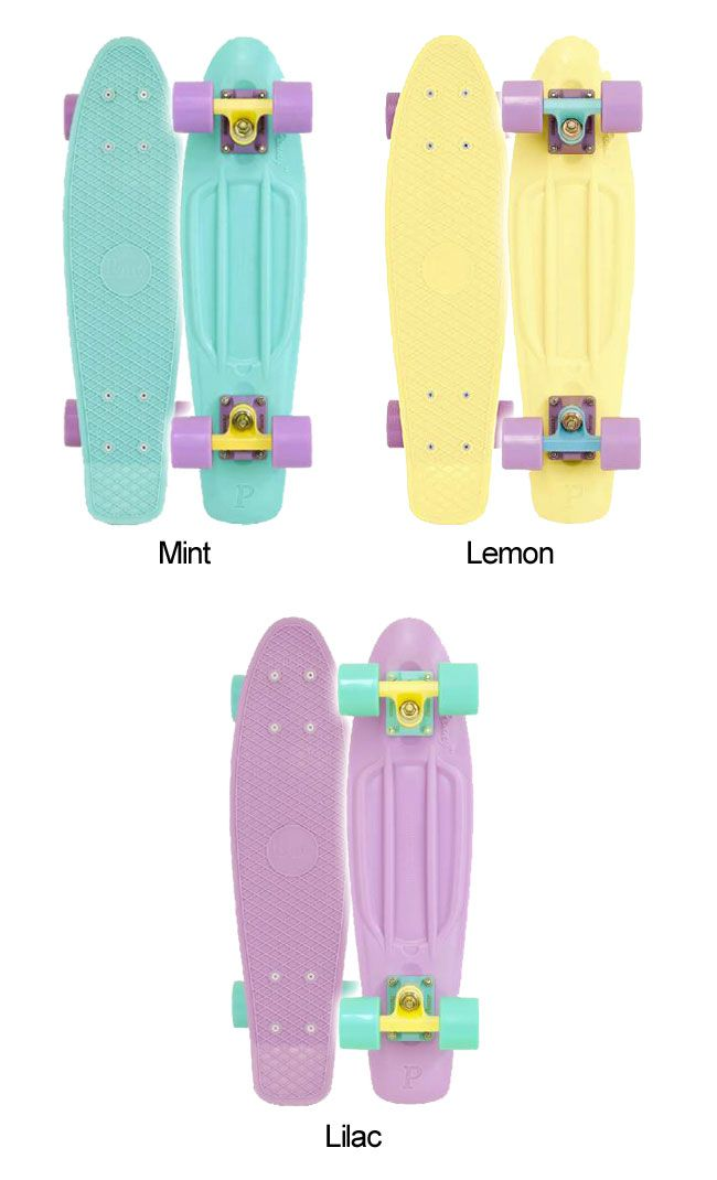 Pastel Penny Boards... I want one sooooooooo bad!! I want the mint one