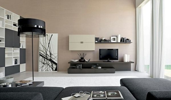 Brown wall color classic bedroom furniture color design