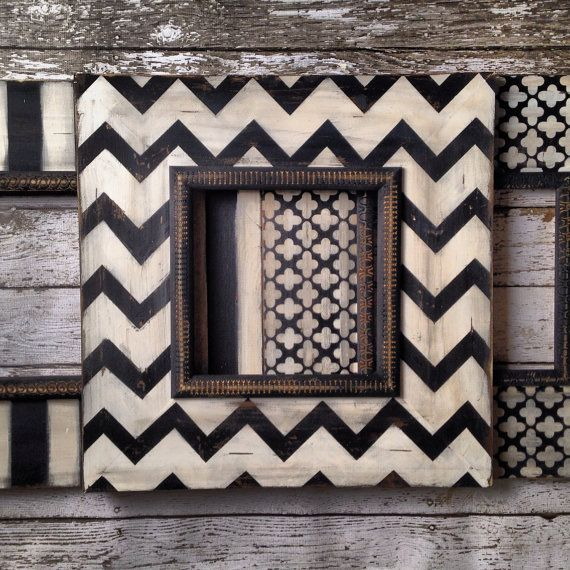 Set of 310x10 Opening Distressed Picture Frames by deltagirlframes, $380.00