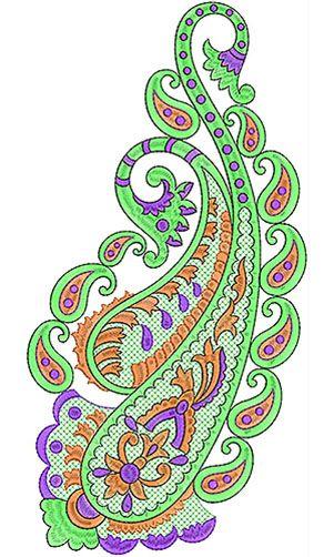 Unique Applique Embroidery Design