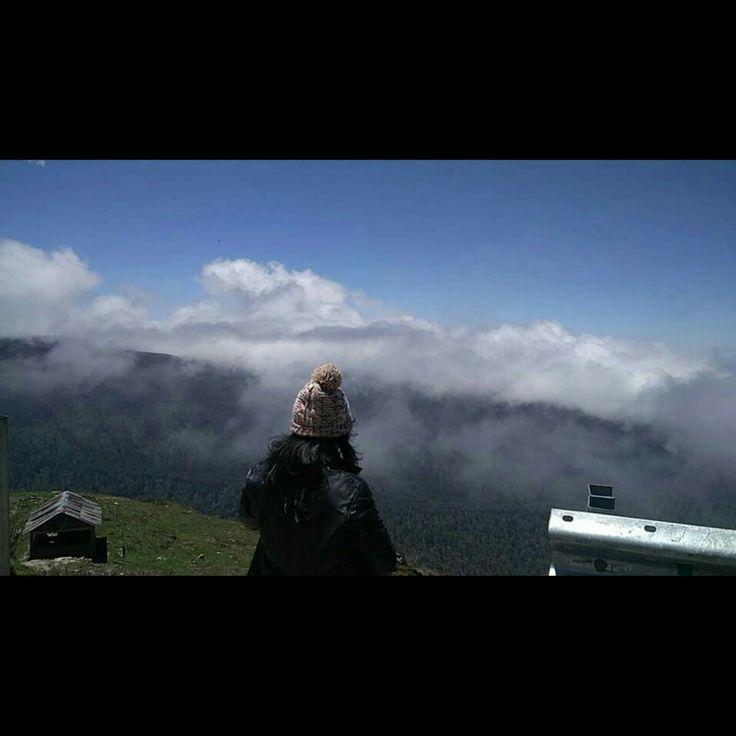 On the way to Baba Harbhajan Singh Mandir at 13,000 ft above sea level.