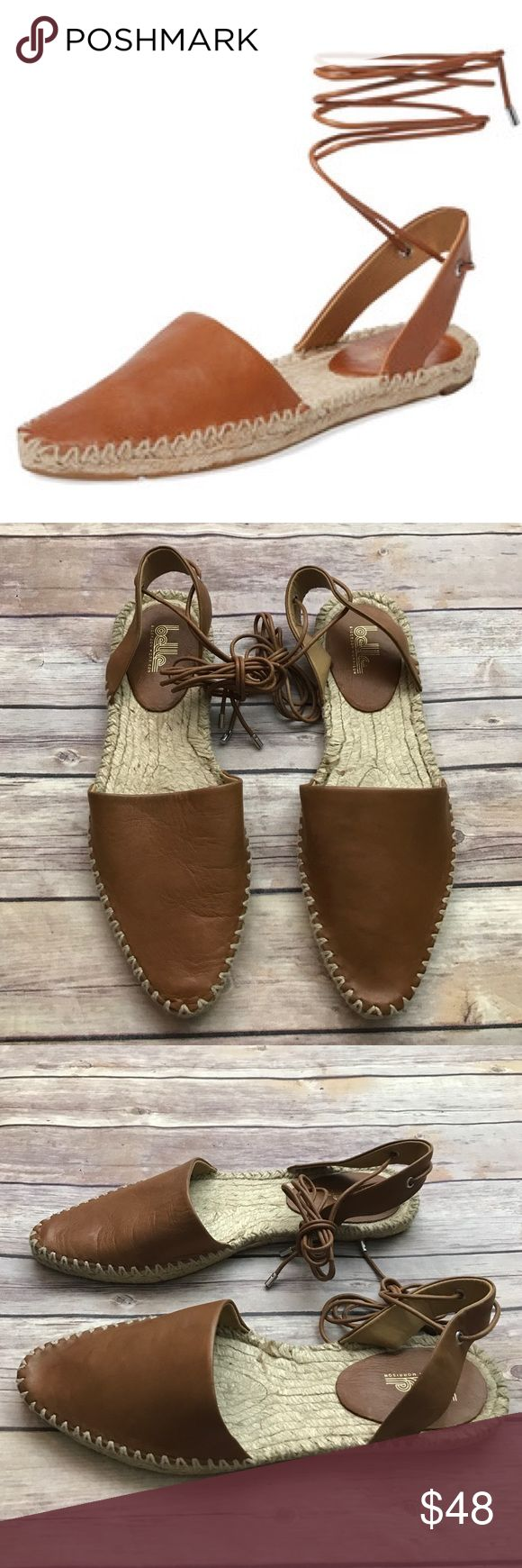 Belle Sigerson Morrison Tan leather espadrilles Leather. New. Belle by Sigerson Morrison Shoes Espadrilles