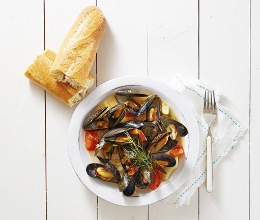 Mussels Provençal