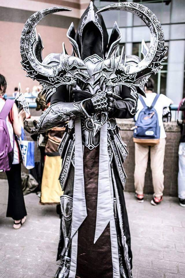 Malthael from Diablo 3 Reaper of souls by Eric Wu Photo by 游文霖