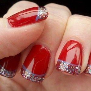 encuentra las mejores uas decoradas en rojo con diferentes motivos textura y