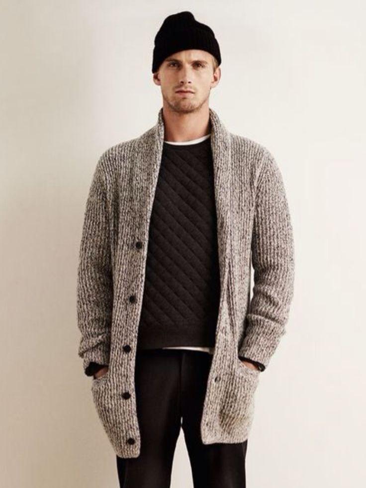 Women Cashmere Cardigan Knit Sweater Coat Winter Double Side Wear ...