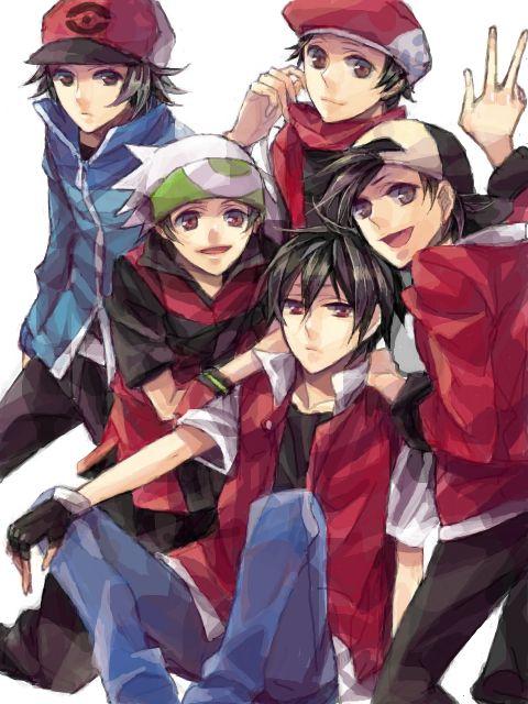 #pokemon #pokemon (game)  Love the boy protagonists. <3