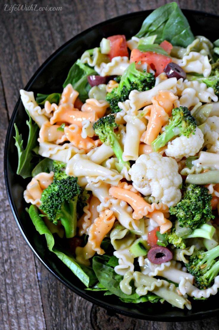 Gigli Pasta Salad - Quick & easy side dish