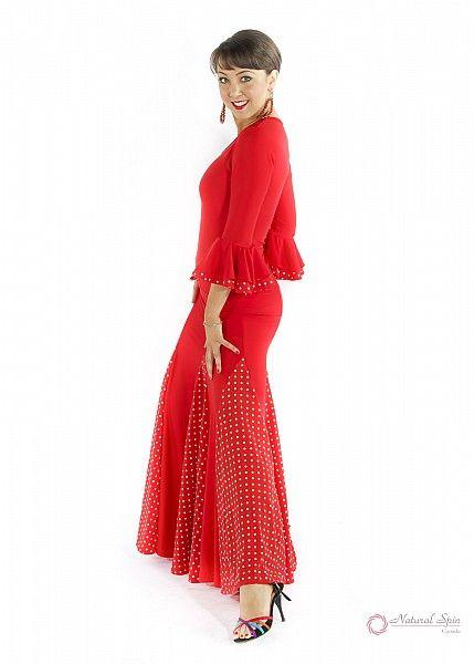 Natural Spin Signature Flamenco Dancewear:  PS02