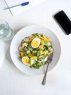 Salade de haricots et vinaigrette au miso Recettes | Ricardo